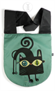 "Imagen de ""Gato negro"" (sobre fondo turquesa)"