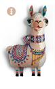 """Imagen de """"Llama"""" Cojín"""