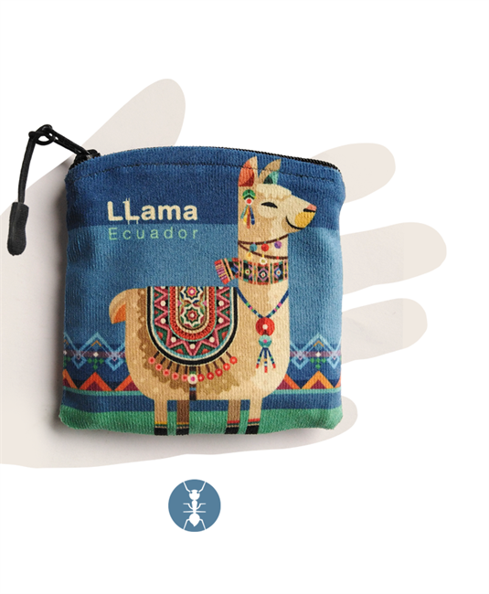 """Imagen de """"Llama"""" Monedero"""
